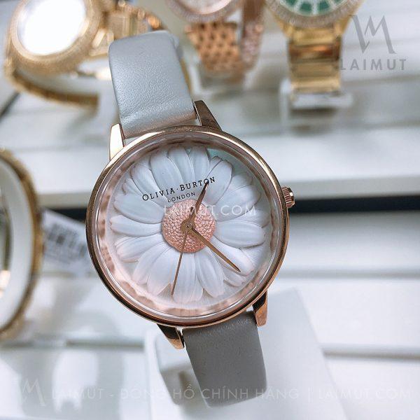 Đồng hồ Olivia Burton 3D Daisy OB15EG50 30mm