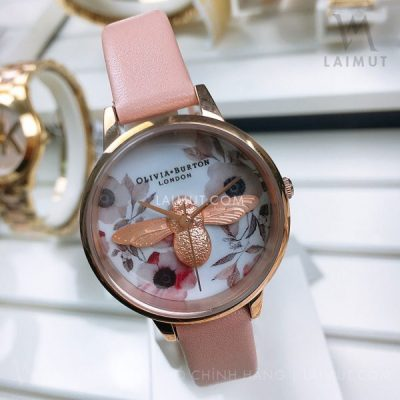 Đồng hồ Olivia Burton 3D Bee OB16AM101 30mm
