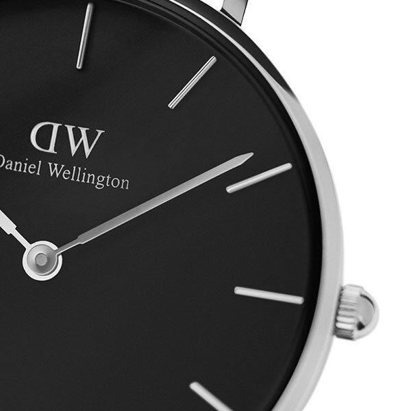 Đồng hồ DW nữ Classic Petite Sterling Black Silver