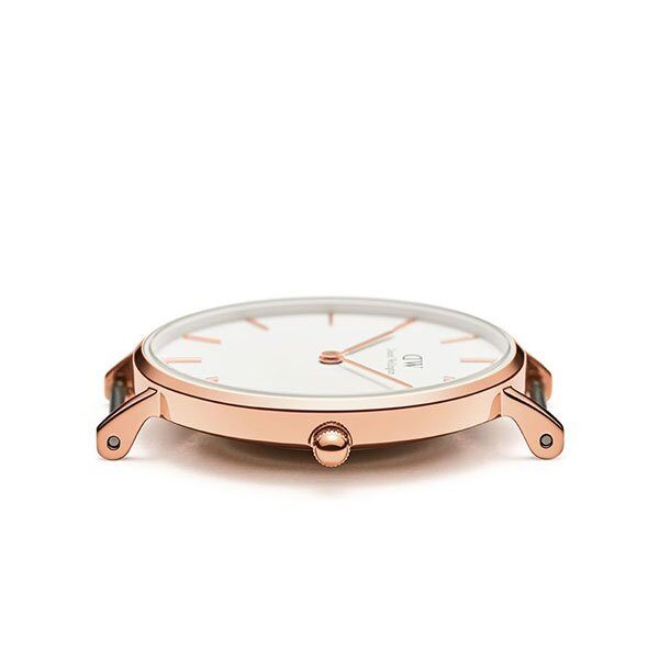 Đồng Hồ DW Nữ Classic Petite Cornwall White Rose Gold