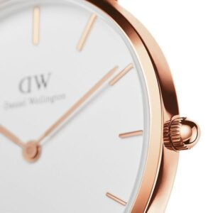 Đồng hồ DW nữ Classic Petite York White Rose Gold