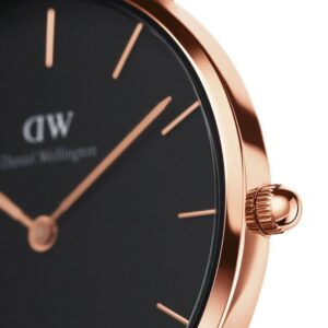 Đồng hồ DW nữ Classic Petite Reading Black Rose Gold