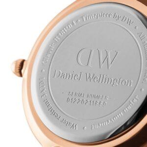 Đồng hồ DW nữ Classic Petite Durham Black Rose Gold