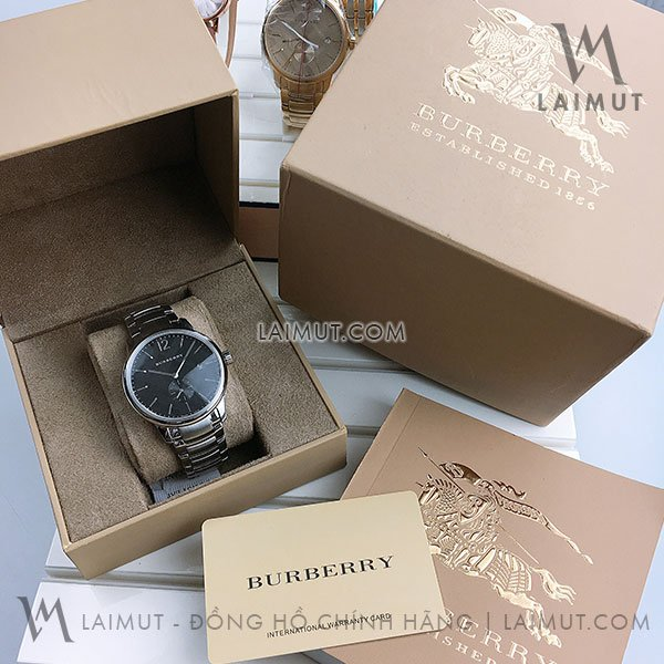 Đồng hồ Burberry nam chính hãng BU10005 40mm