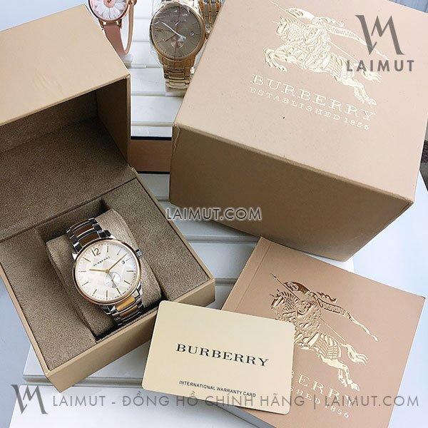 Đồng hồ Burberry nam chính hãng BU10111 40mm