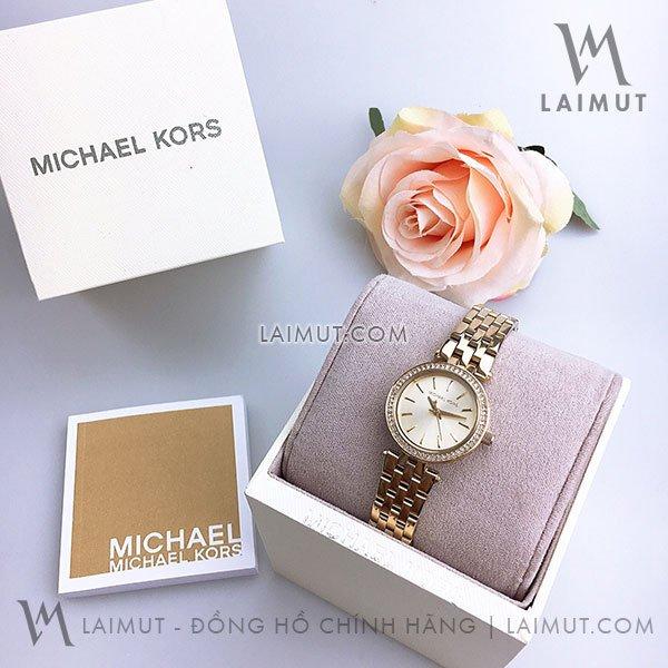 Đồng Hồ Michael Kors Nữ Chính Hãng MK3295 26mm