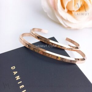 Vòng Tay Daniel Wellington Chính Hãng Nữ Classic Bracelet DW00400003 & DW00400001